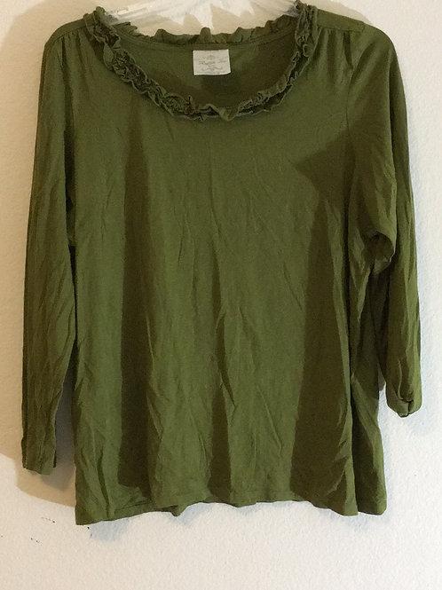 Ruffle Tee Shirt - Size 22/24