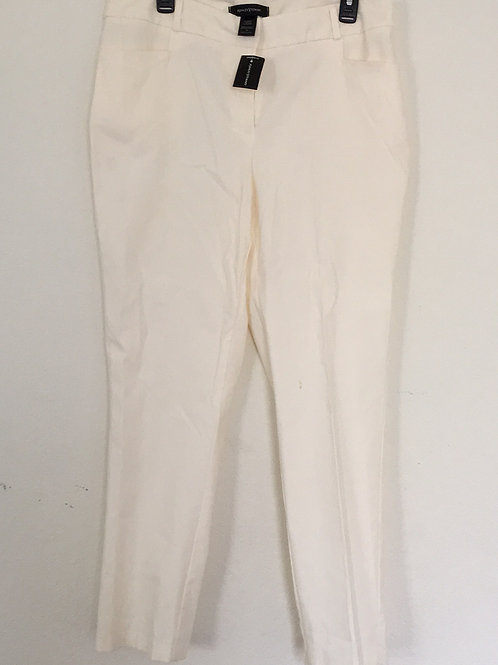 NWT Ashley Stewart Cream Pants - Size 14