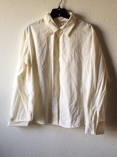 White Stage Shirt - Size Large