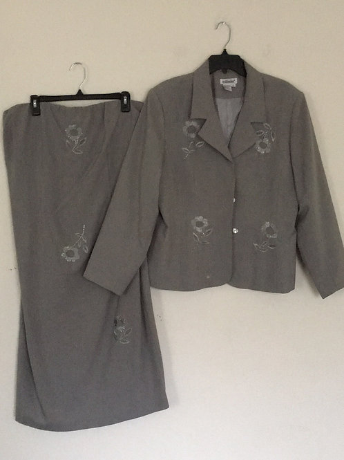 Styleworks Grey Suit - Size 18