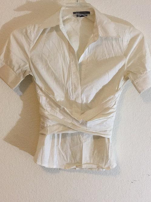 BCBG White Shirt - Size XS