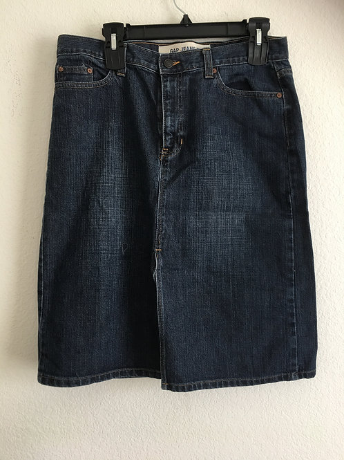 GAP Blue Jean Skirt - Size 12