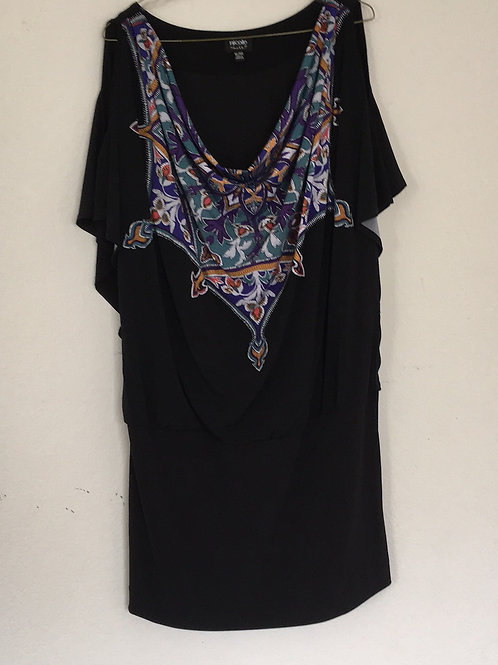 Nicole Black Dress - Size XL