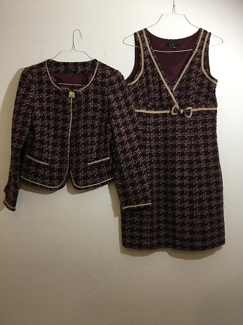 ECI New York Dress & Jacket - Size 10