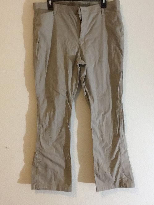 Lee Rider Khaki Pants - Size 16P