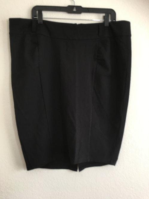 Torrid Black Skirt - Size 18