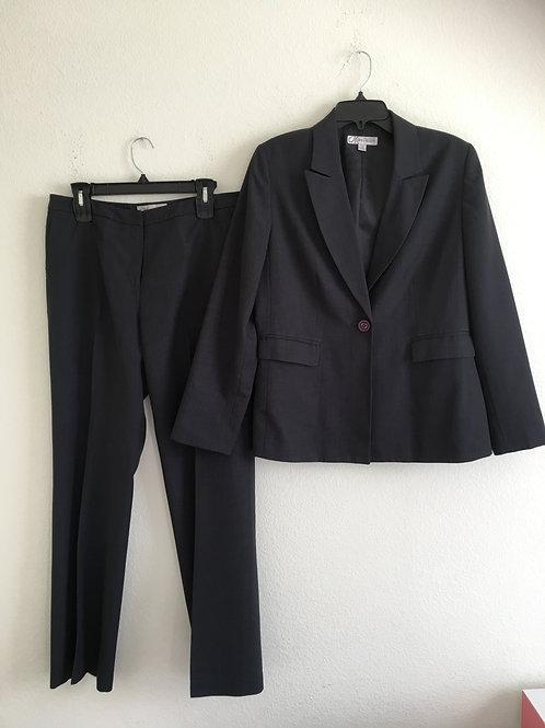Dressbarn Grey Suit - Size 10