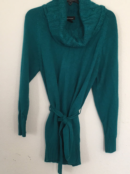 Ashley Stewart Turquoise Sweater - Size 14/16