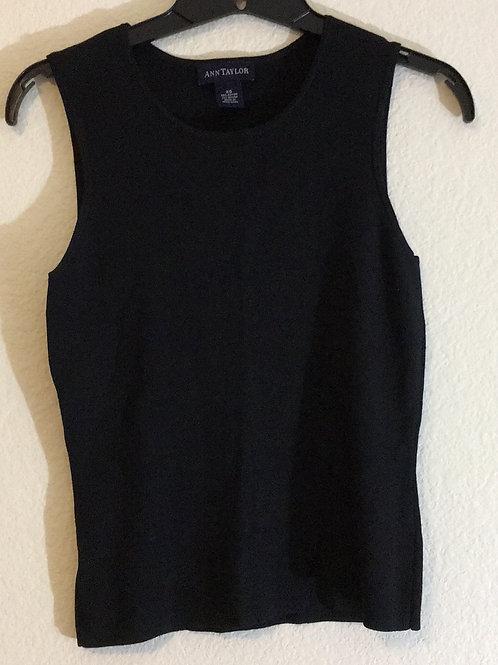 Ann Taylor Black Shirt - Size XS