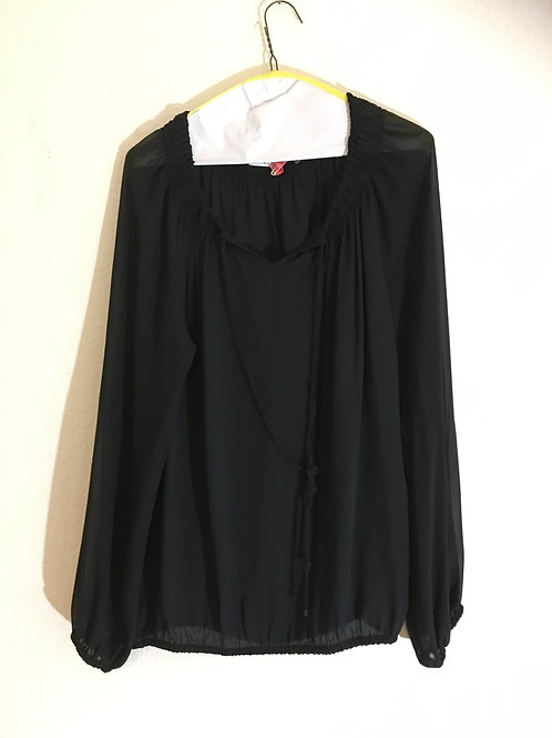 Tahari Black Shirt - Size Large