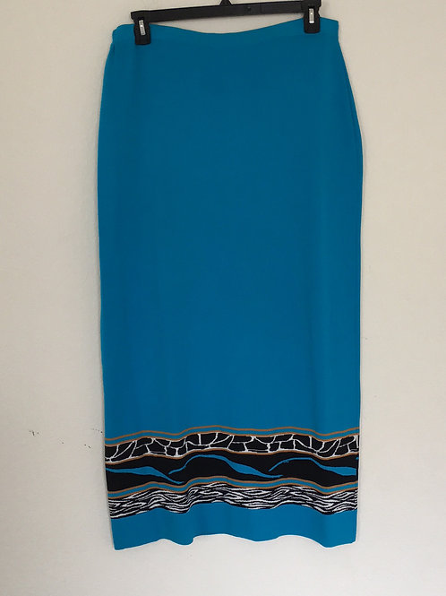 Alie Miles Turquoise Skirt - Size XL