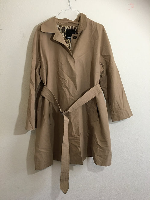 Talbots Trench Coat - Size 18