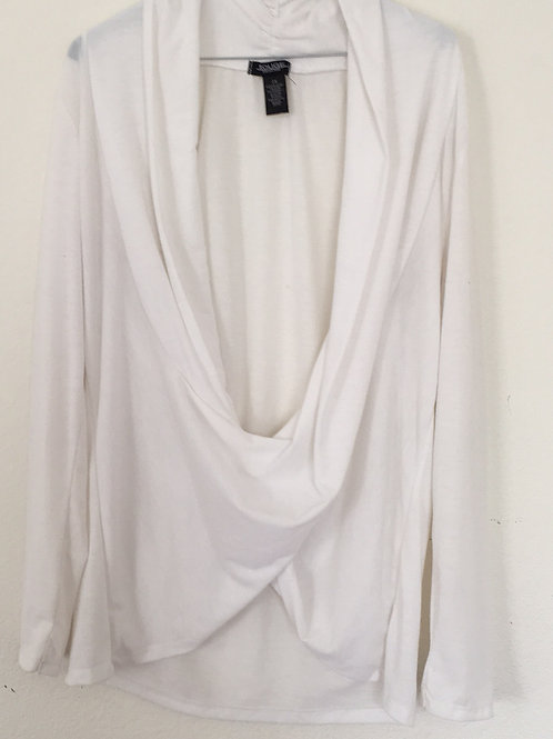 Rouge White Shirt - Size 2X