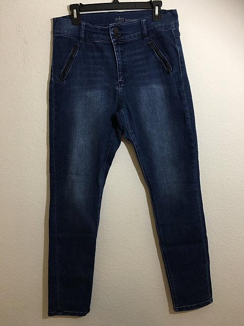 Soho Blue Jeans Size 14