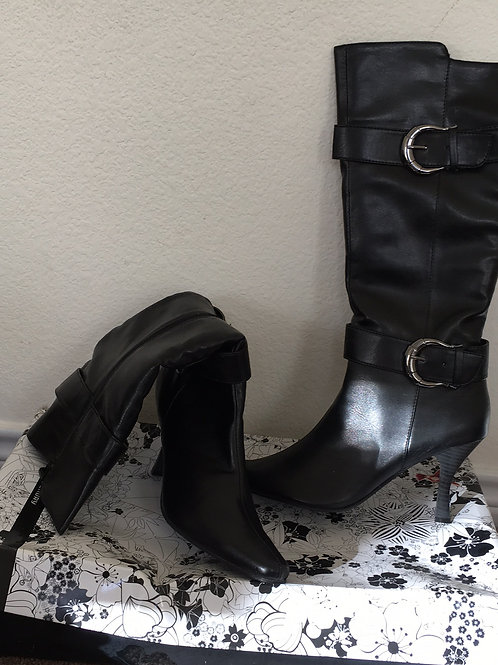 CL Laundry Black Boots - Size 11M