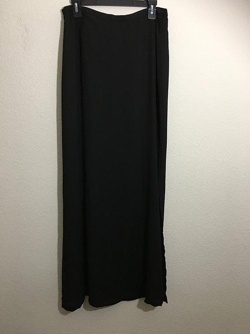 Tildon Long Black Skirt - Size L