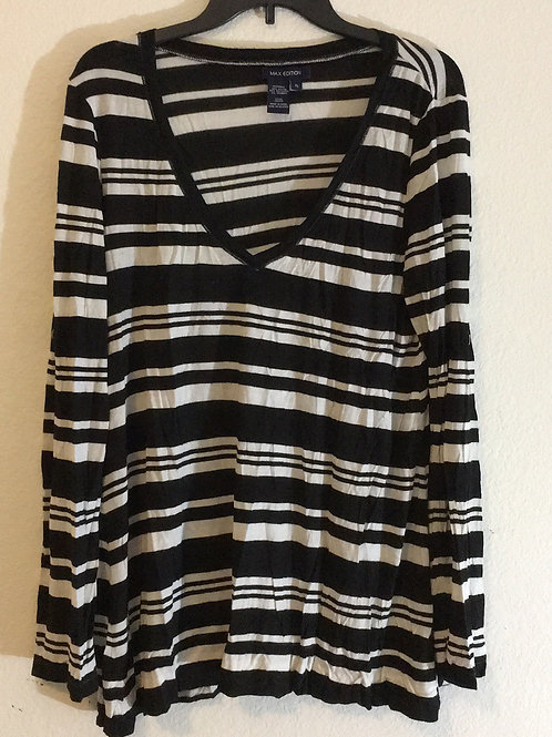 Max Edition Striped Shirt - Size XL