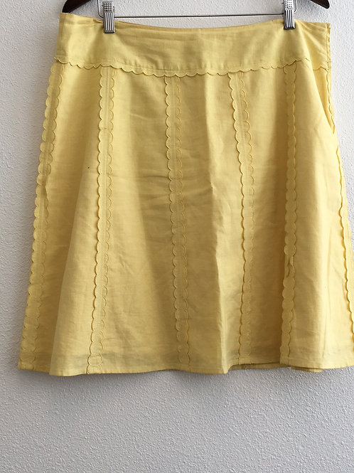Cato Yellow Skirt - Size 16