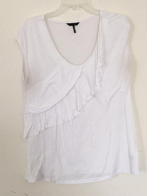 Daisy Fuentes White Shirt - Size Large