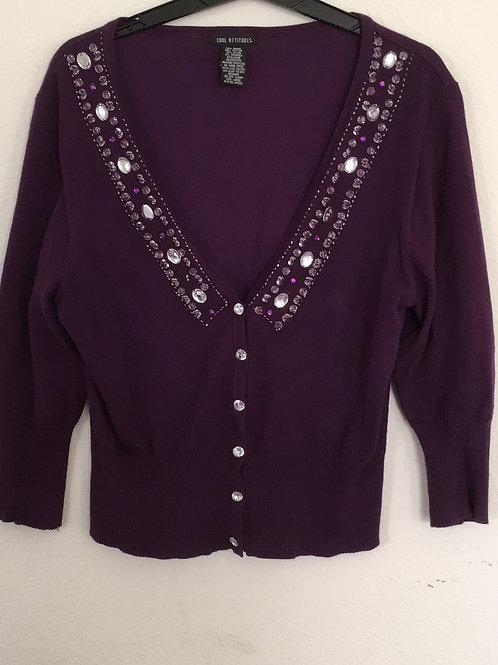Purple Sweater - Size Large