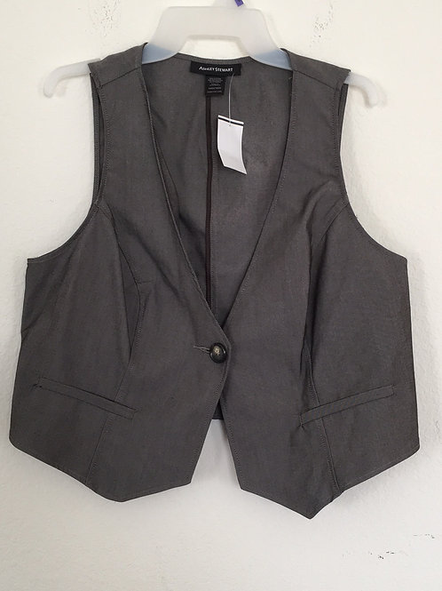 NWT Brown Vest - Size 14/16