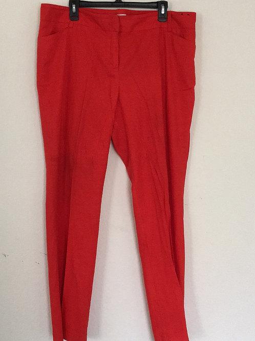 New York & Company Orange Pants - Size 18