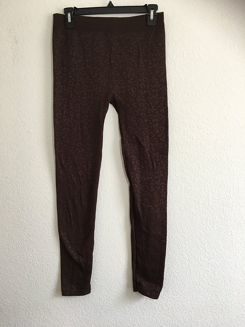 Brown Leggings Size Medium