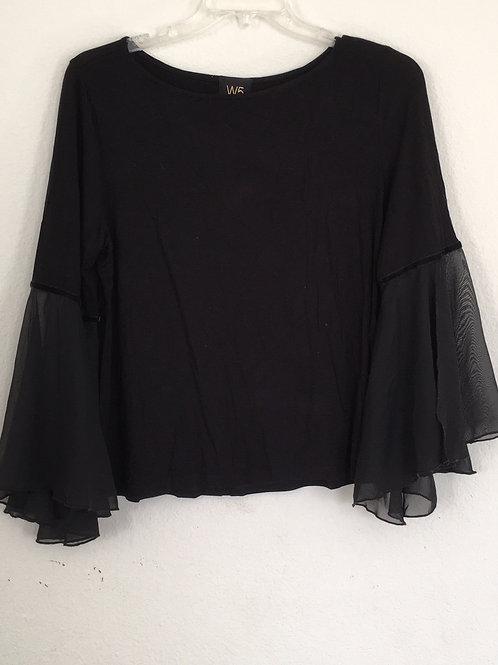 W5 Black Shirt - Size Large