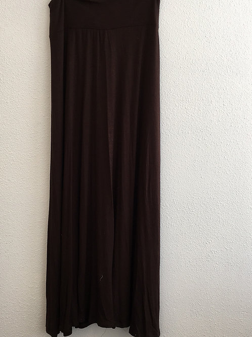 Long Brown Skirt -Size Large
