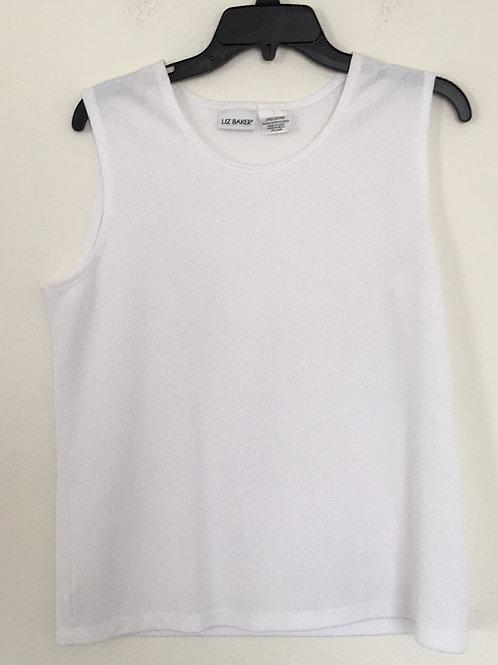 Liz Baker White Shirt - Size Large
