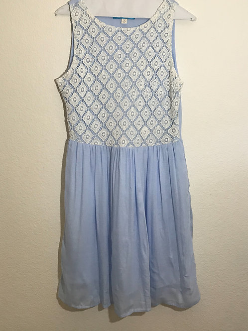 Buttons Dress - Size Medium