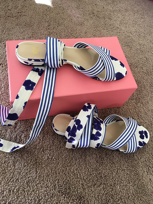 New Cabi Tie Up Sandals - Size 8
