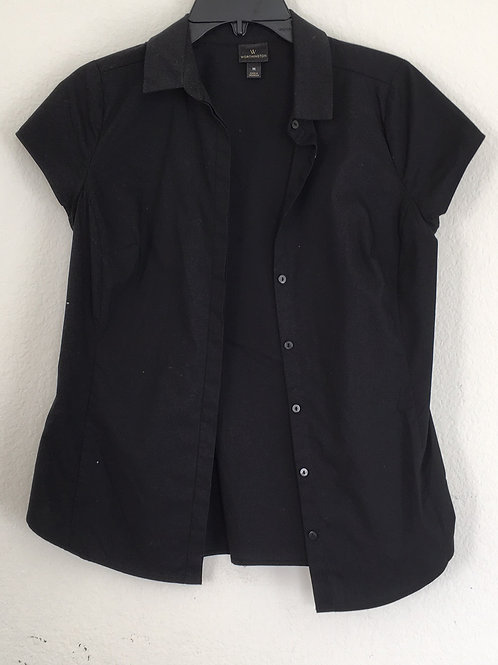 Worthington Black Shirt - Size Medium