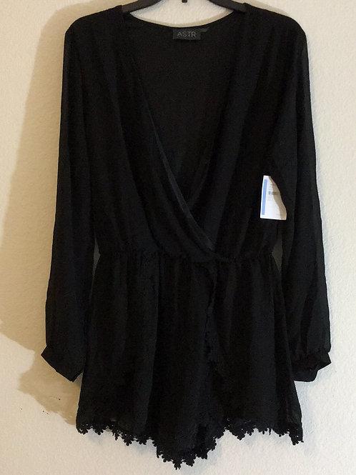 NWT ASTR Black Shirt - Size XL