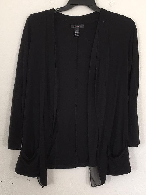 Style & Co Black Jacket - Size Medium