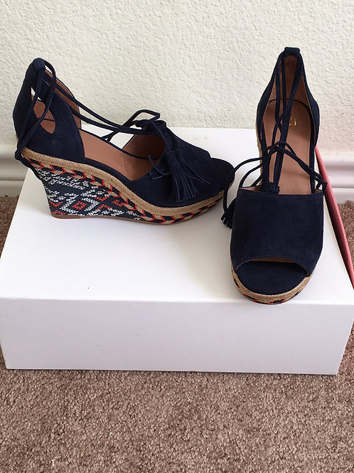 New Cabi Wedge Sandals - Size 6M