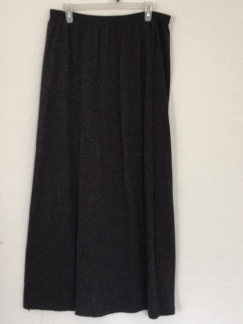 Bobeau Long Grey Skirt