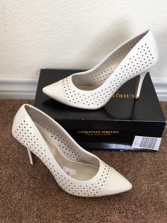 33093dde064 NWT Christian Siriano White Shoes - Size 12