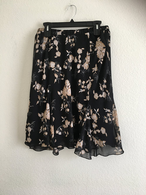 Floral Skirt - Size 14