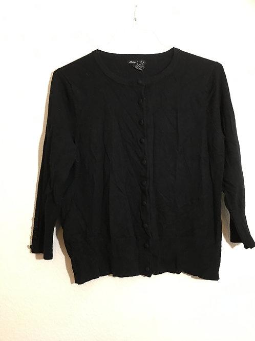 Audrey & Grace Black Sweater - Size XL