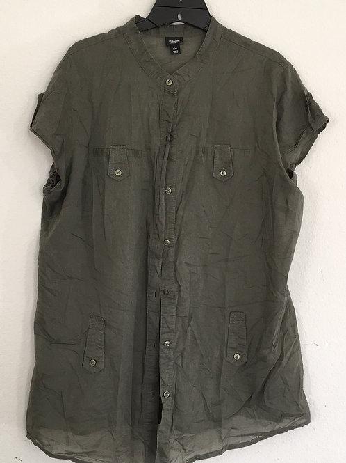 Mossimo Green Shirt - Size XXL