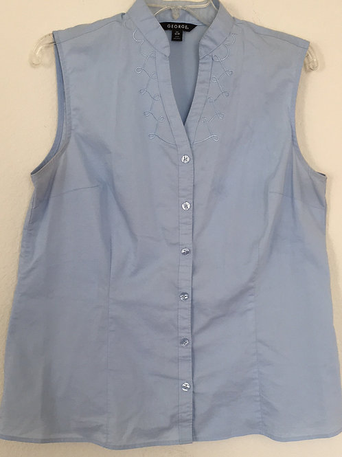 George Blue Shirt - Size Large