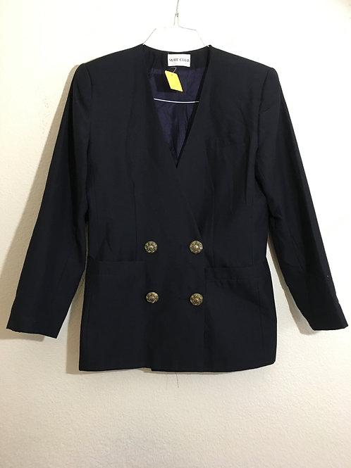 Suit Club Blue Blazer - Size 10