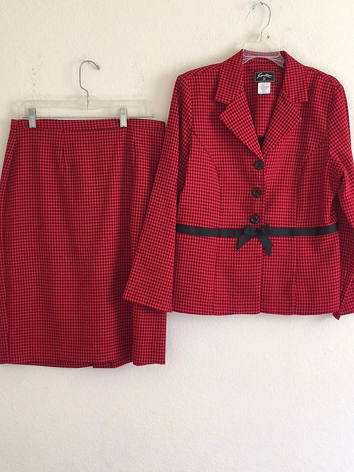 Sweet Suit Red Suit - Size 12
