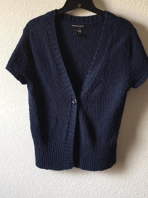 New York & Company Blue Sweater - Size Medium