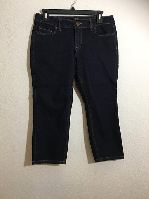 Ann Taylor Loft Capri Jeans Size 29/8P