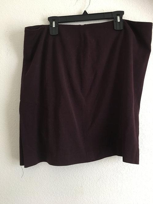 Lane Bryant Maroon Skirt - Size 20