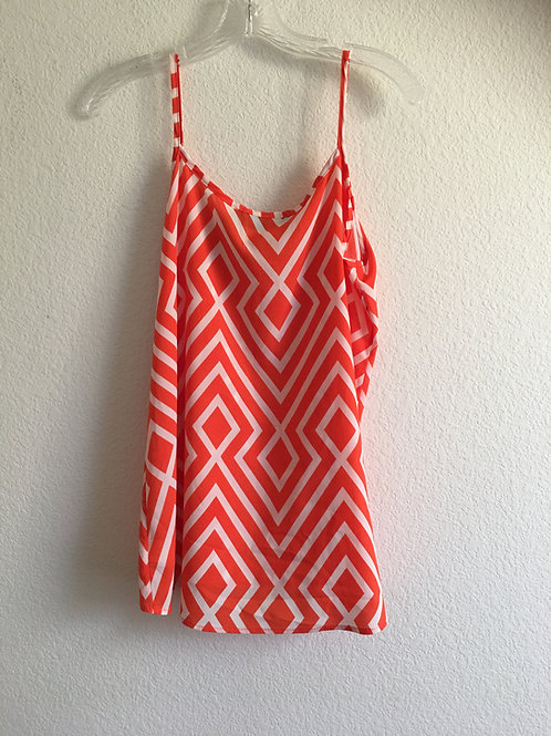 Orange Tank - Size Large