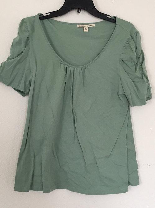 Carolyn Taylor Green Shirt - Size XL