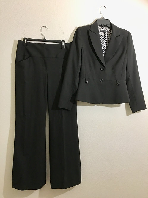 Antonio Melani Black Suit - Size 6/8